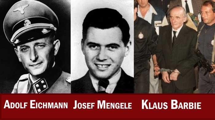 افسران فراری نازی