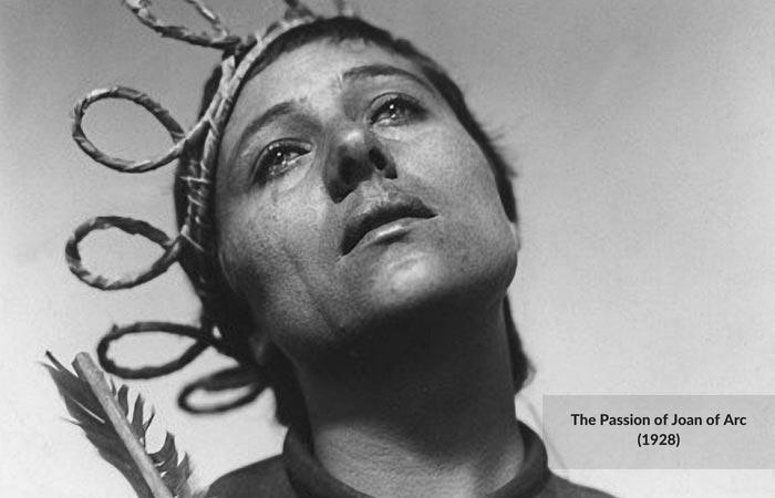 مصائب ژاندارک درایر