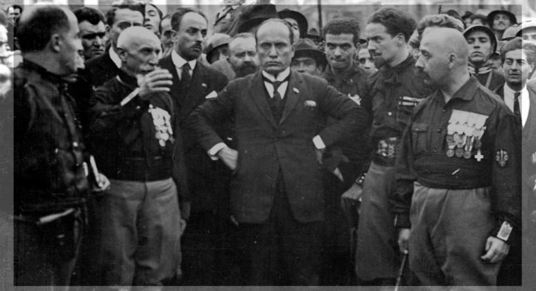 موسولینی ایتالیا سال 1922