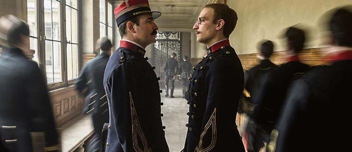 صحنه ای از فیلم یک افسر و یک جاسوس