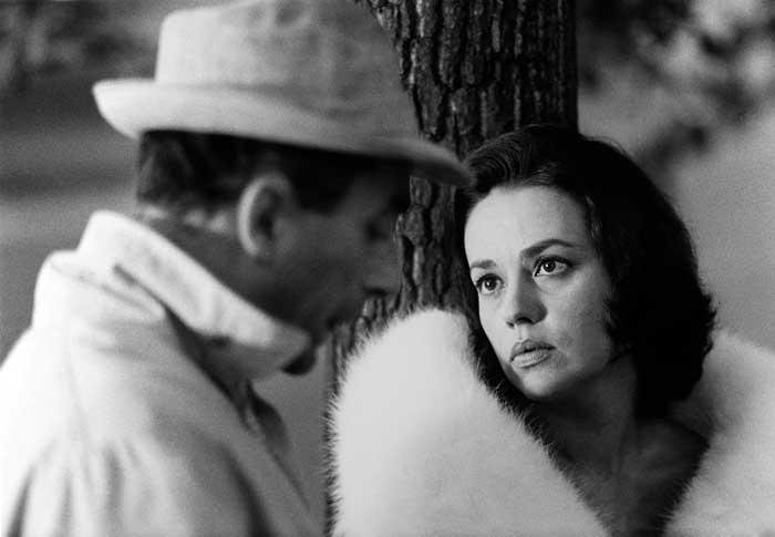 ژان مورو و میکل آنجلو آنتونیونی- پشتصحنه فیلم شب