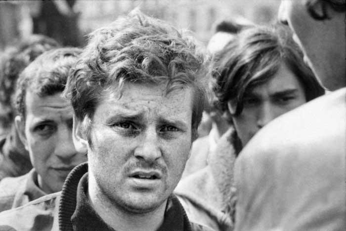 دانیل کوهن بندیت از رهبران اعتراضات دانشجویی می 1968
